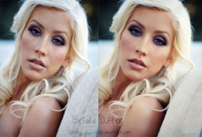 Retouch - Christina Aguilera by abbeyagraves