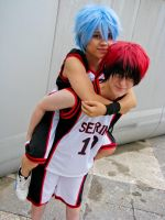 KnB: Piggyback Ride by Mr-Pineapple