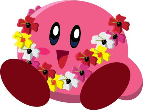 Kirby in a Flower Lace by gemstonelover49
