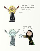 .TIS THORSDAY. by bababug