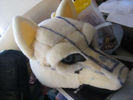 Wolf Fursuit WIP 5 by wolfblackwing