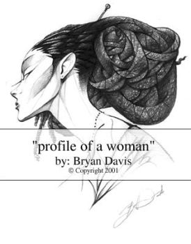Profile of A Woman by braeonArt