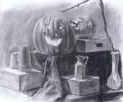 Halloween Still Life by TyphoonCutter