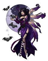 Dark Fairy by JessiBeans
