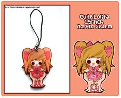 Lolita Fashion Charm by Minty-Kitty-Art