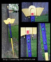 How to make: Emperor Lelouch's sword by YoshiFHP