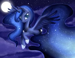 Princess Luna by Rebecka-chan