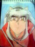 Serious Inuyasha by InuyameElric