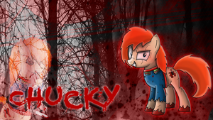 Chucky OC Pony Wallpaper :3 by CKittyKat98
