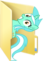 Custom Lyra folder icon by Blues27Xx