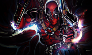 Deadpool smudge by GiladAvny