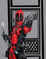 deadpool Merc with a mouth  by PM-Graphix