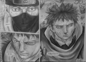 The man behind the mask : Obito Uchiha by PopoKarimz