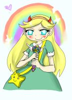 Princess Star Butterfly by Danielle-chan