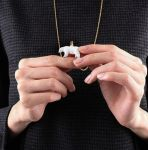 Polar Bear Pendant by Shape-hunter