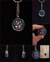 Twilight Sparkle Shadowbox Keychain by minnichi
