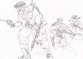 British commandos by tanyk