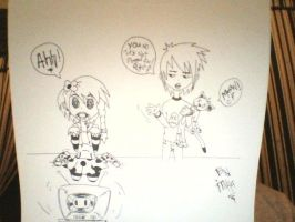 OC's - Cry and K and Jinxx the Cat by Naruto711