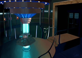 TARDIS Interior by Steph1254
