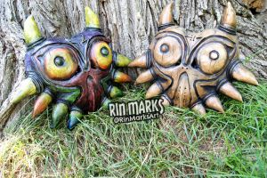 Skull Kid Wearable Mask by RinMarksArt