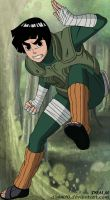 Rock Lee by dimm10