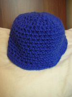 Blue Beanie by CataCata23
