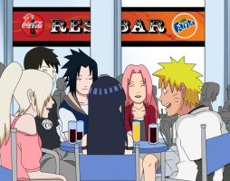 Laughing at Naruto by antonie15