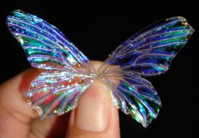 Mini dainty Faery wings II by S0WIL0