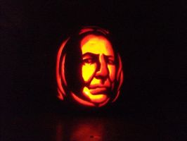 Snape o lantern by Ali-riginal