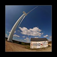 Fisheye + Wind mill by Objectix
