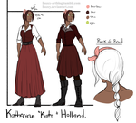 Kate Holland Reference Sheet. by Lozey