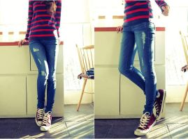 jeans and all star by leehaneul