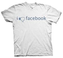 I Dislike Facebook by acerstudio