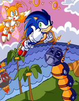 Into the midst of Sonic Chaos by JamesmanTheRegenold