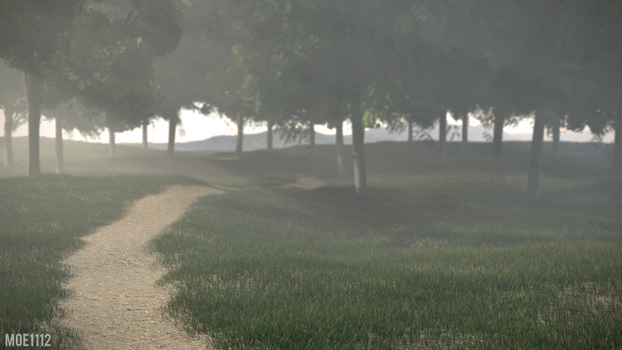 Misty Morning by MoeRBLX