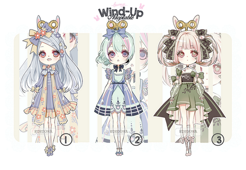 ::CLOSED::Bunny Sisters Adopt by Rurucha