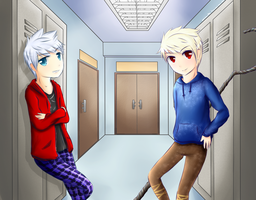 Prussia, and Jack Frost too. by MaeMe96