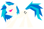 Polygonal - Vinyl Scratch by flamevulture17