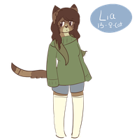 Lia anthro by tocame