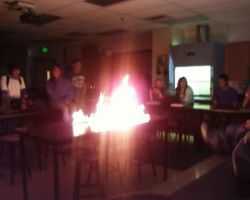 In Chemistry We Play With Fire by Spunkers