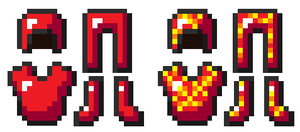 Minecraft Blaze Armors by DBZ2010