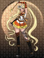 Happy October Sailor Moon by Bluesky55j