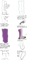 project 'butterfly elf' part 5: Boots instructions by napoleondolls