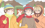 South Park Boys by SecretMetalAlchemist