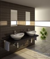 Bathroom Render 08 by cenkkara