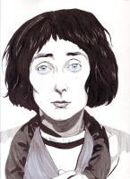 emo philips by Cumino