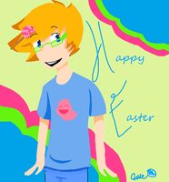 happy easter by Pikapika9951