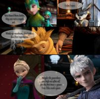 61 Frozen Guardian [Jack Frost x Elsa] by angeltorchic