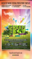 Green Fest by Something-design