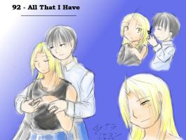 Theme 92 - All That I Have by ChibiEdo